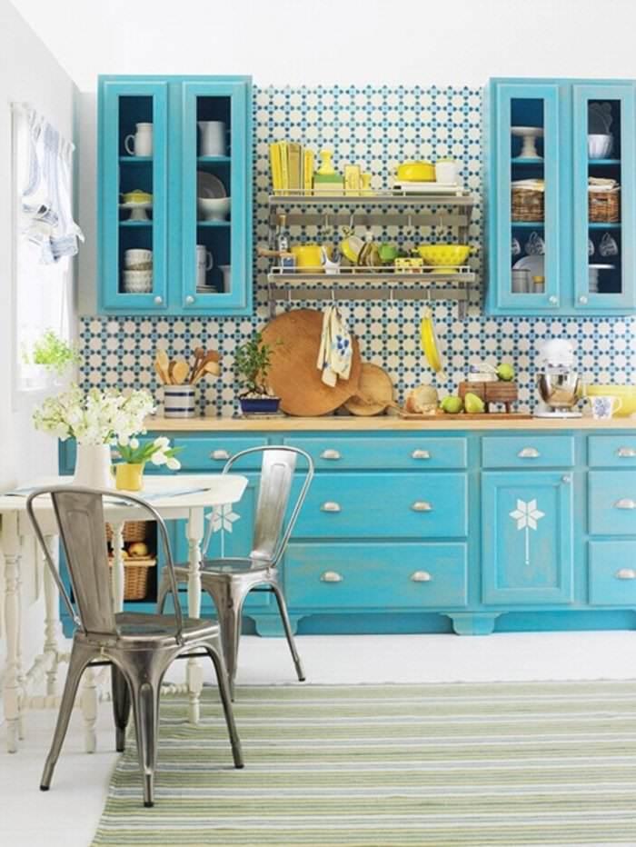 **Pintar muebles de Azul Turquesa - El Taller de lo Antiguo